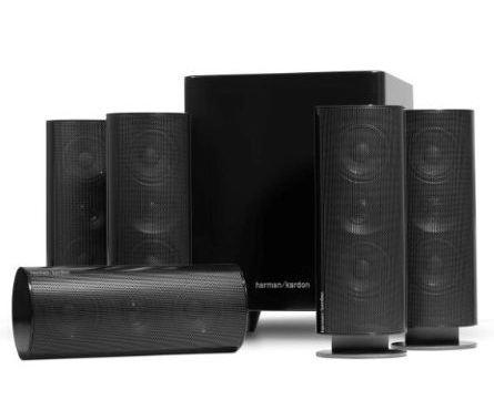 Harman Kardon HKTS 30BQ 5.1-Ch Home Theater Speaker System