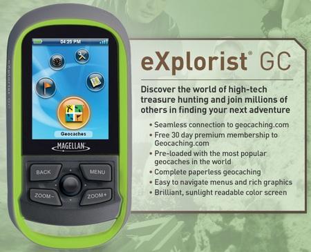 Magellan eXplorist GC Handheld GPS Device for Geocaching