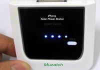 Muzatch MZH-1200 iPhone Solar Charger