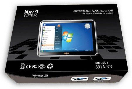 Netbook Navigator NAV9 Slate PC