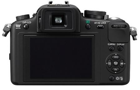 Panasonic Lumix DMC-G10 Micro Four Thirds Camera back