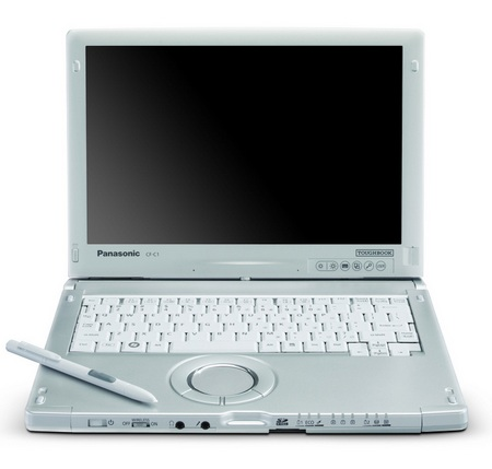 Panasonic Toughbook C1 Convertible Tablet PC front