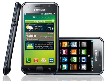 Samsung Galaxy S Smartphone - Android 2.1, 4-inch AMOLED, 1GHz CPU