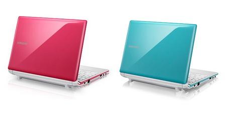 Samsung N150 Netbook Flamingo Pink Bermuda Blue