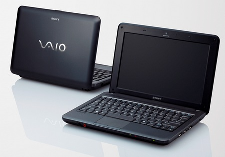 Sony VAIO M series Mini Notebook black