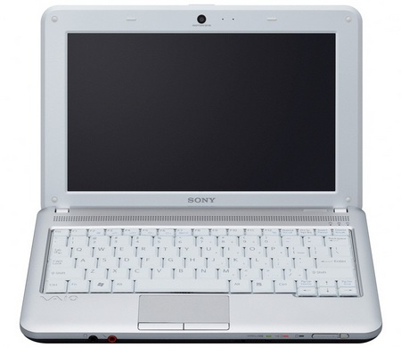 Sony VAIO M series Mini Notebook front