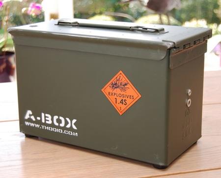 Thodio A-BOX ammobox speaker back