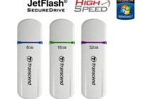 Transcend JetFlash 620 USB Flash Drive with 256-bit AES Security