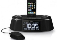 iLuv iMM178 Vibe Plus Dual Alarm with iPod/iPhone Dock