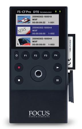 Canon FS-CF and FS-CF Pro portable CompactFlash DTE recorders