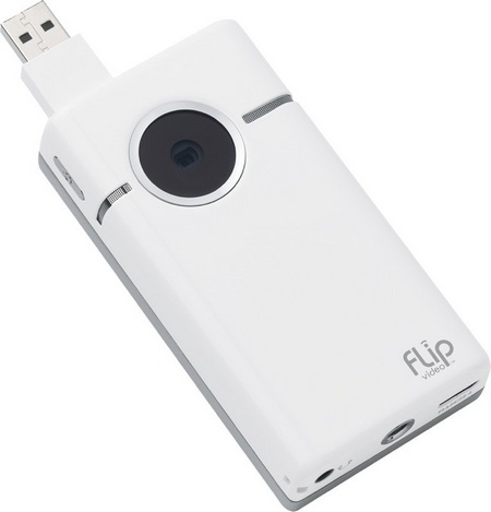 Cisco Flip SlideHD 720p Camcorder lens