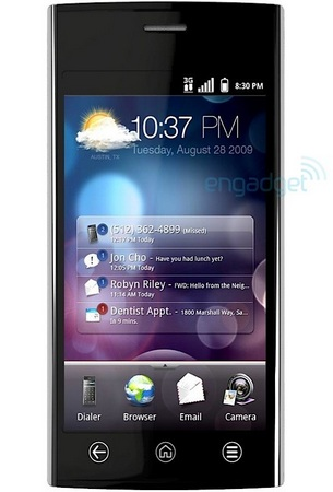 Dell Thunder Android Phone with 4.1-inch Display front
