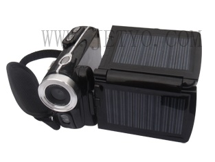 Jetyo HDV-T900 Solar-powered HD Camcorder solar panels