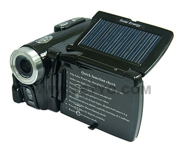 Jetyo HDV-T900 Solar-powered HD Camcorder