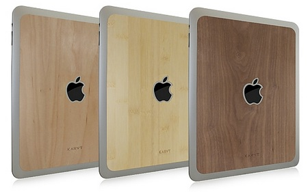 KARVT Wooden iPad Skins