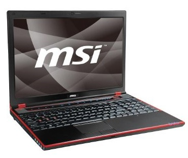 MSI GX640 Core i5 Notebook