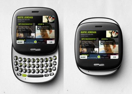 Microsoft KIN One Social Networking Phone