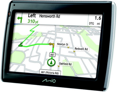 Mio Navman 470, 475 and 575 GPS Devices