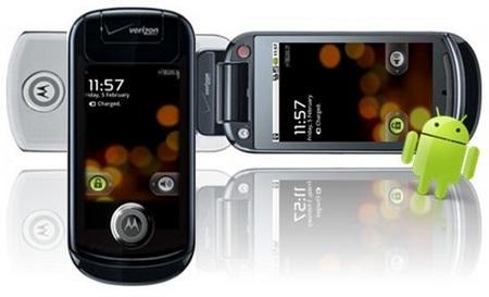 Motorola Ming Android Phone Leaked verizon logo
