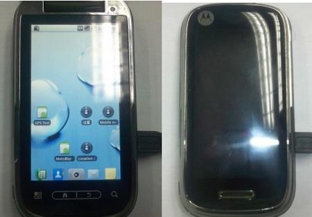 Motorola Ming Android Phone Leaked