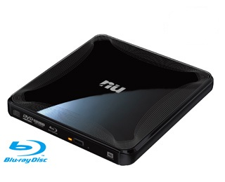 NU EBR240 Slimmest Portable Blu-ray Writer