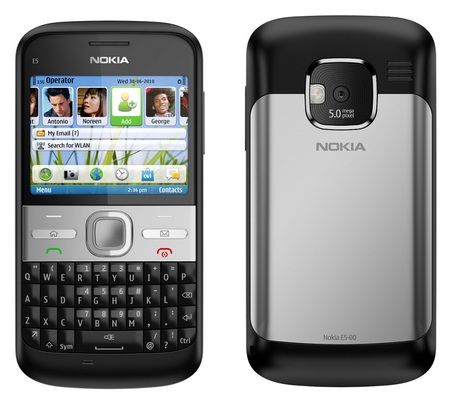 Nokia E5-00 QWERTY Business Smartphone