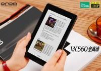 Onda VX560 PMP doubles as an e-reader