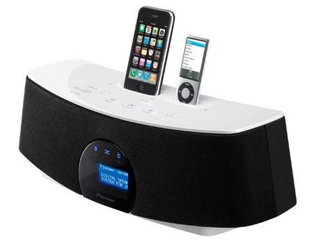 Pioneer Duo Series XW-NAC3-K Dual-Dock iPod Speaker