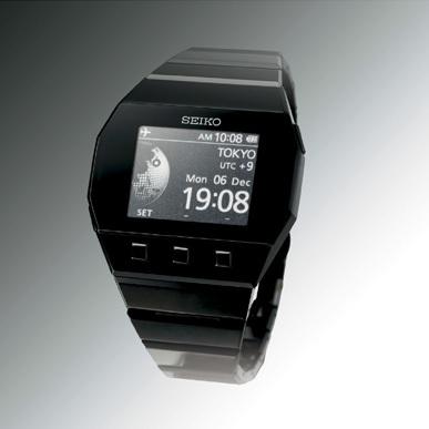 Seiko Active Matrix E-Ink Watch