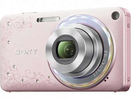 Sony Cyber-shot DSC-W350D Camera for Women Pink