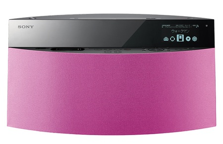 Sony NAS-V5 Walkman Speaker dock Pink
