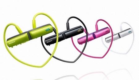Sony Walkman NWZ-W250 Series Wearable and Waterproof MP3 Player