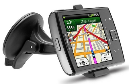 T-Mobile Garminfone Android Smartphone with car dock