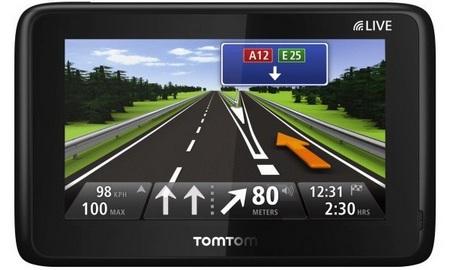 TomTom Go Live 1000 GPS Device with WebKit UI