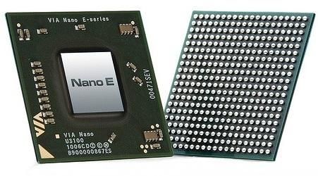 VIA Nano E-Series Processor with 64-bit Support