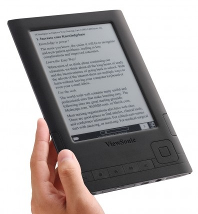 ViewSonic VEB625 and VEB620 E-book Readers black