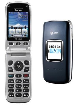 AT&T Pantech breEZe II 3G Clamshell Phone