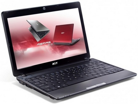 Acer Aspire One 721 netbook gets AMD Processors