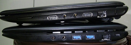 Asus Eee PC 1215 ION 2 Netbook Spotted USB 3.0