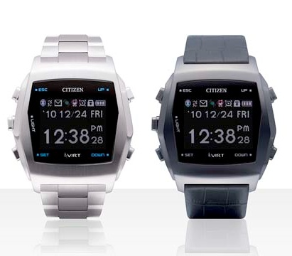 Citizen TM84-0351V and TM84-0352V Bluetooth Watches