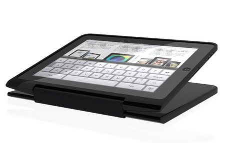 ClamCase for iPad with Bluetooth Keyboard touchscreen stand