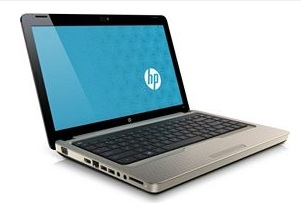 HP G42t Notebook with Core i3 i5