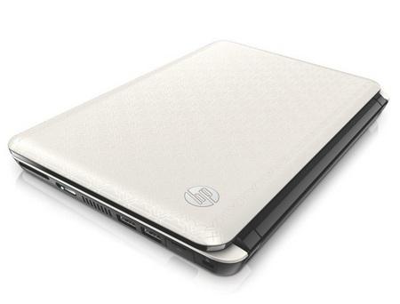 HP Mini 210 white crystal