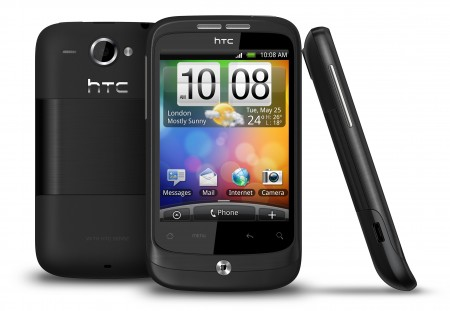 HTC Wildfire Android Phone black