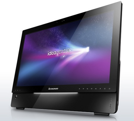 Lenovo IdeaCentre A700 All-in-One PCs with optional touchscreen