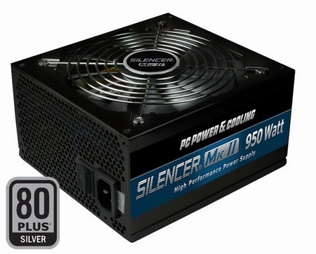 OCZ PC Power & Cooling Silencer Mk II Power Supply Unit