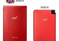 PQI S533-E and S532-E USB 3.0 SATA Dual Interface Portable SSDs