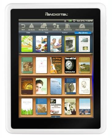 Pandigital Novel WiFi e-Book Reader with B&N eBookstore Access bookstore
