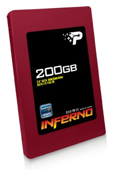 Patriot Inferno series SSD with SandForce SF-1222 Controller