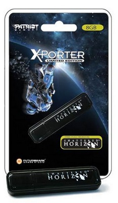 Patriot Xporter USB Flash Drive with Shattered Horizon